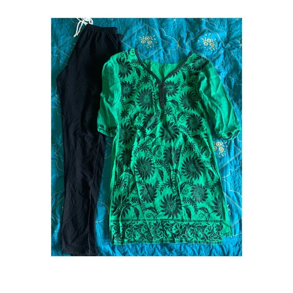 Dresses & Skirts - Indian suit kurti and pant (legging) style